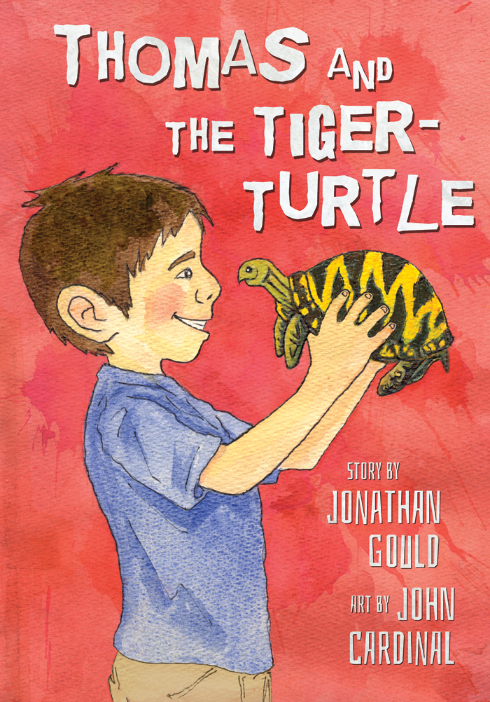 Thomas and the Tiger-Turtle cover