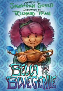 Bella and the Blue Genie cover